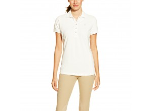 Ariat Women's Prix Polo (White)