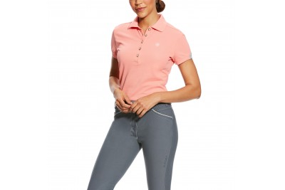 Ariat Women's Prix Polo (Peach Twig)