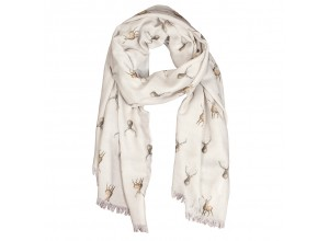 Wrendale 'Wild at Heart' Stag Scarf
