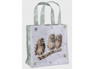 Wrendale Shopping Bag - Small Owls
