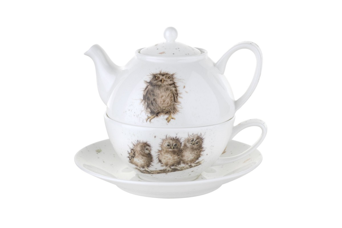 Wrendale Tea For One Teapot And Cup Set Acorn Saddlery