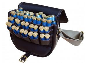 Exmoor Fast Loader Leather Cartridge Bag