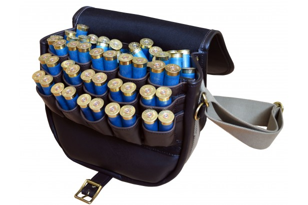 Exmoor Fast Loader Leather Cartridge Bag