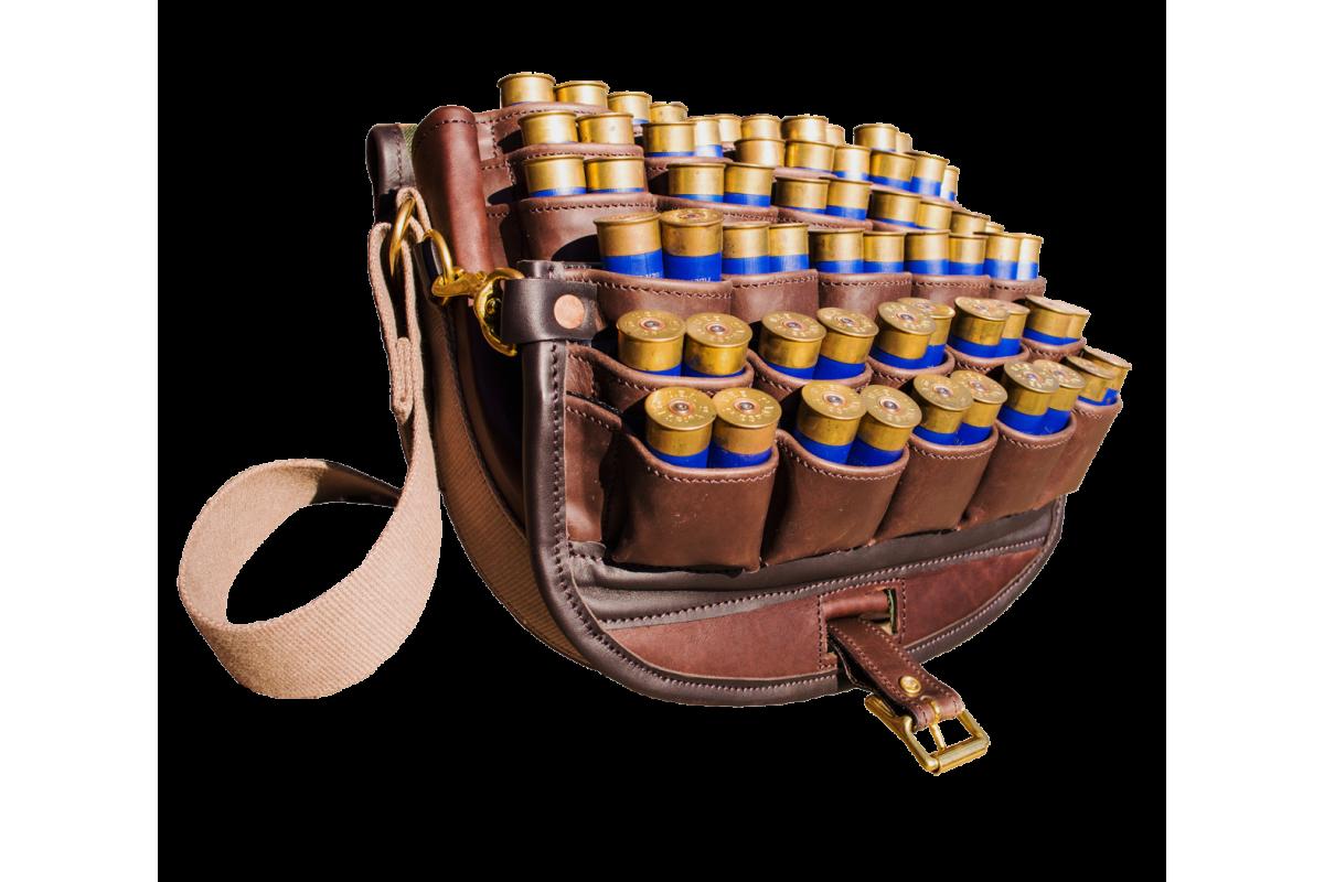 Exmoor Fast Loader Leather Cartridge Bag – Acorn Saddlery – Master ...